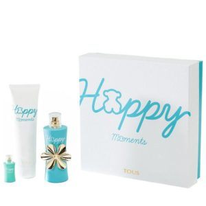 HAPPY MOMENTS ESTUCHE 90ML + LLET CORP. 150ML + 4ML VAPO